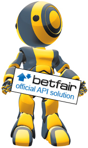 Betfair official API vendor